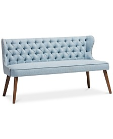 Scarlett Button-Tufting 3-Seater Sofa, Quick Ship