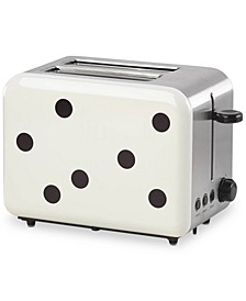 All In Good Taste Deco Dot Toaster