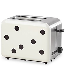 kate spade new york All In Good Taste Deco Dot Toaster
