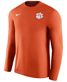 Nike Men's Clemson Tigers Dri-Fit Touch Longsleeve T-Shirt