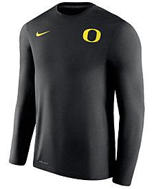 Nike Men's Oregon Ducks Dri-Fit Touch Longsleeve T-Shirt