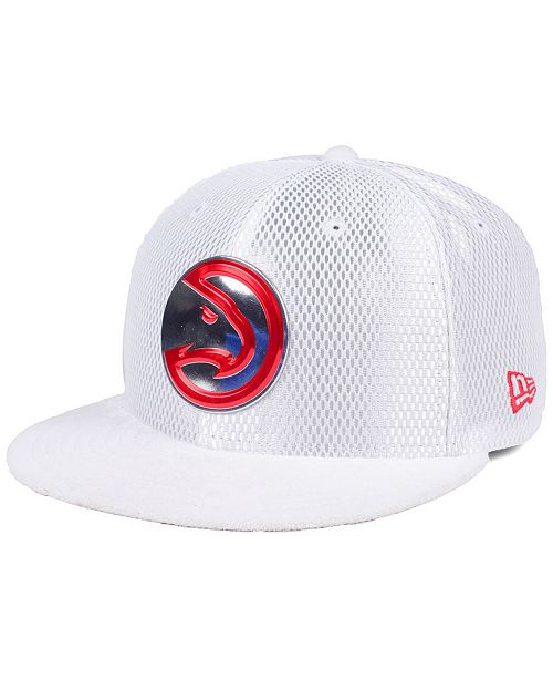 low priced 40838 92aa1 New Era Atlanta Hawks On-Court Collection Draft 59FIFTY Fitted Cap ...