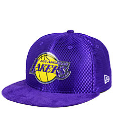 New Era Los Angeles Lakers On-Court Collection Draft 59FIFTY Fitted Cap