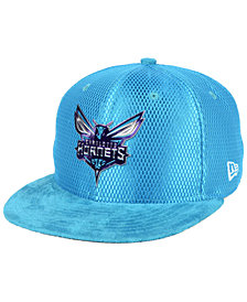New Era Charlotte Hornets On-Court Collection Draft 9FIFTY Snapback Cap