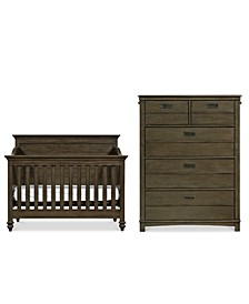 Varsity Baby Bedroom Set, 2-Pc. Set (Crib & Chest)