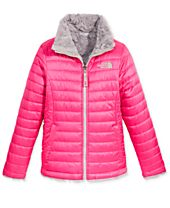 The North Face Mossbud Reversible Puffer Jacket, Little Girls (4-6X) & Big Girls (7-16)
