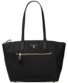 Kelsey Medium Top-Zip Nylon Tote