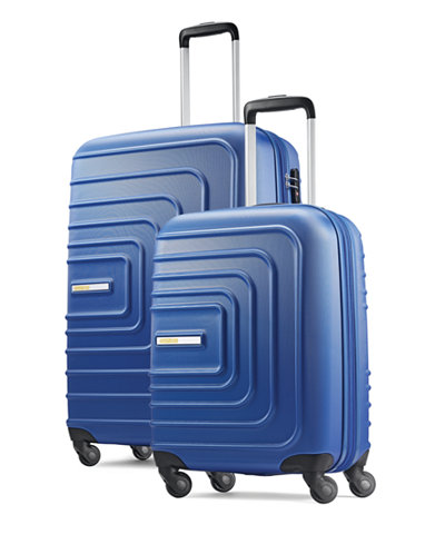 American Tourister Xpressions Hardside Spinner Luggage Collection Created For Macy S