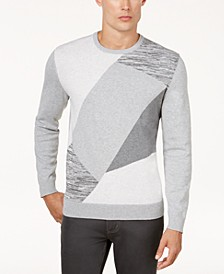 Men's Angled Colorblocked Sweater, Created for Macy's