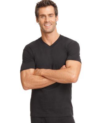 men's underwear, tagless v neck Undershirt 3 pack