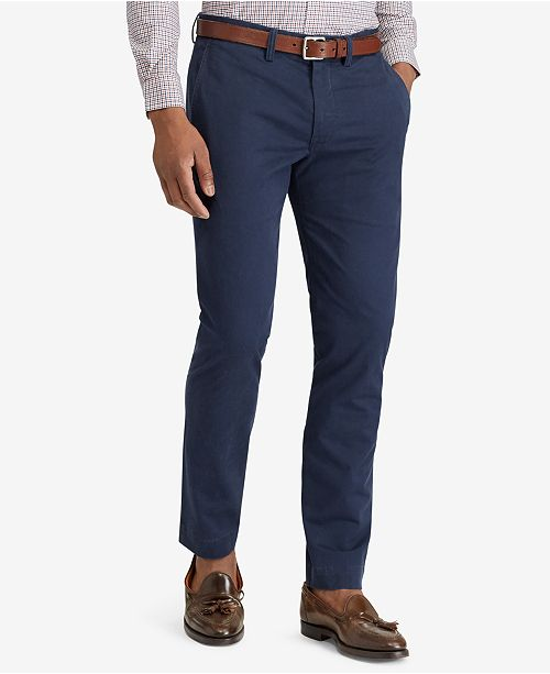 a1e65d5f Men's Straight-Fit Bedford Stretch Chino Pants