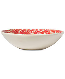Viva by Vietri Lace Collection Medium Serving Bowl