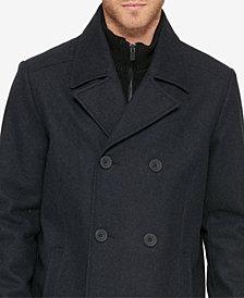 Kenneth Cole Reaction Men's Bibbed Pea Coat