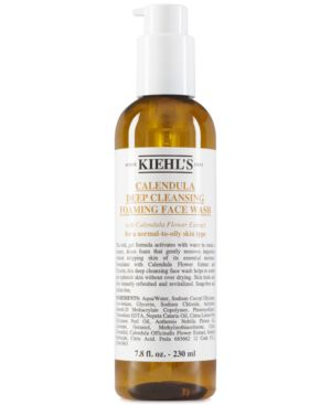 Kiehl's Since 1851 Calendula Deep Cleansing Foaming Face Wash, 7.8 fl. oz.