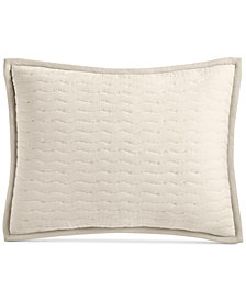 CLOSEOUT! Hotel Collection Arabesque Cotton Quilted King Sham, Created for Macy's