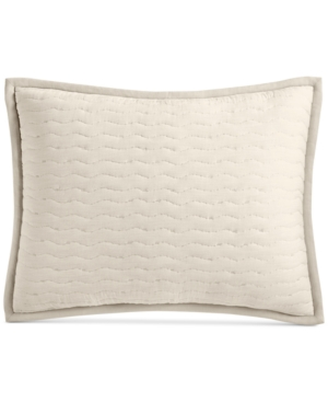 Hotel Collection Arabesque Cotton Quilted Standard Sham Created for Macys Bedding