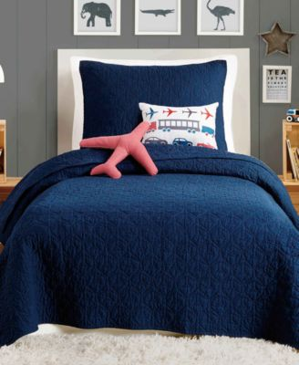 Airplane 4-Pc. Twin Quilt Set