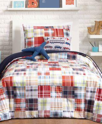 Bryce Reversible 4-Pc. Twin Comforter Set