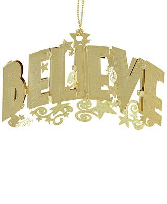 Chemart Believe 3D Ornament