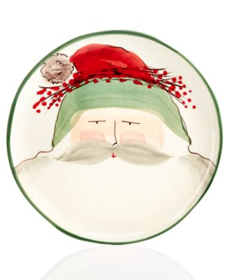 Old St. Nick Round Platter, Created for Macy's