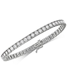 Diamond Tennis Bracelet (4 ct. t.w.) in 10k White Gold