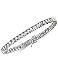 Diamond Tennis Bracelet (4 ct. t.w.) in 10k White Gold