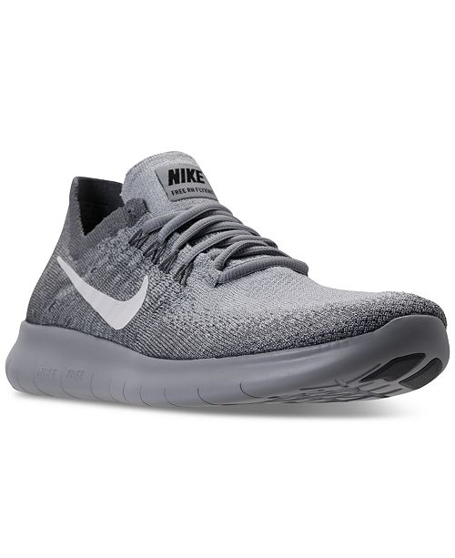 a4bede18e898 Nike Women s Free Run Flyknit 2017 Running Sneakers from Finish Line ...