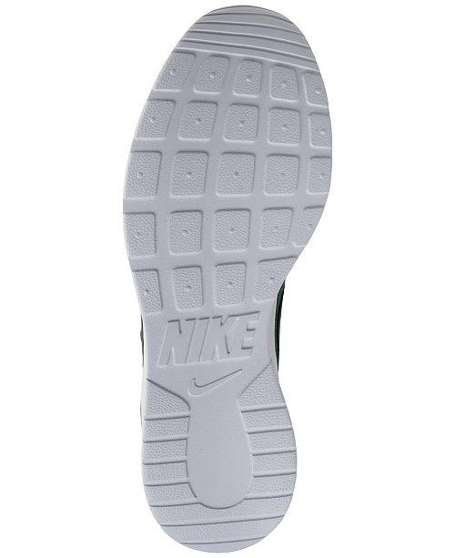 2e84581a24c71 Nike Women s Tanjun Casual Sneakers from Finish Line   Reviews ...