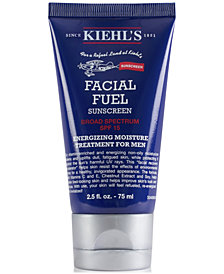 Kiehl's Since 1851 Facial Fuel Energizing Moisture Treatment For Men Sunscreen SPF 15, 2.5-oz.