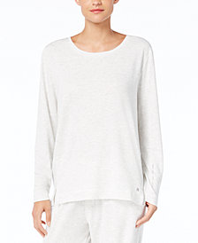 HUE® Super Soft Pajama Long Sleeve Top