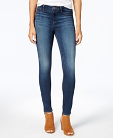 WILLIAM RAST Sculpted High Rise Skinny Jeans
