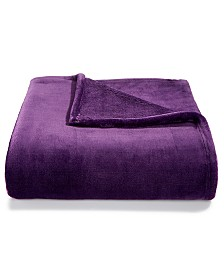 "Charter Club Cozy Plush 50"" x 70"" Throw, Created for Macys"