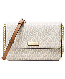MICHAEL Michael Kors Signature Large Gusset Crossbody