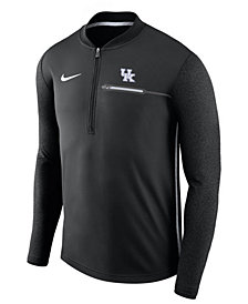 Nike Men's Kentucky Wildcats Coaches Quarter-Zip Pullover