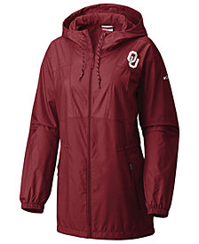 Columbia Women's Oklahoma Sooners Flashback Long Windbreaker