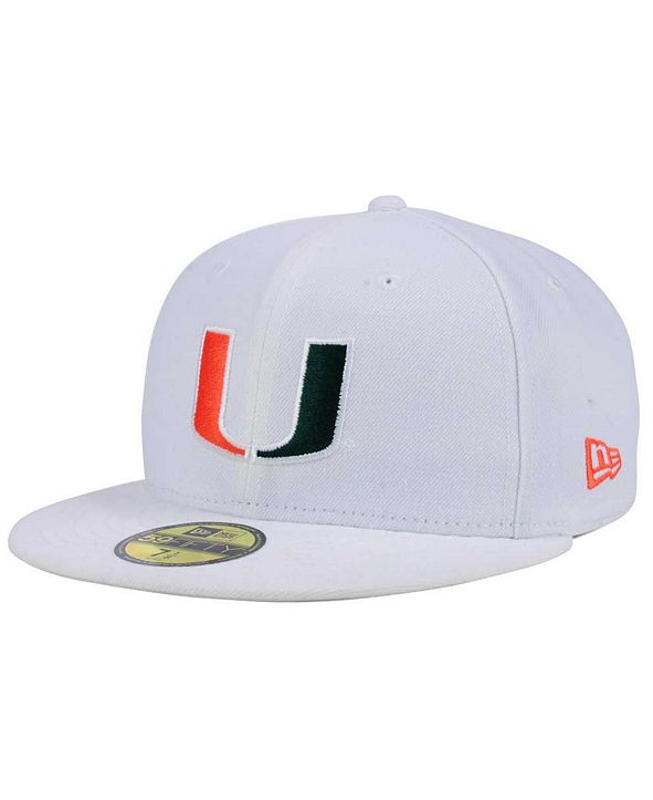 New Era Miami Hurricanes AC 59FIFTY Fitted Cap