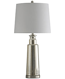 StyleCraft Kenley Mercury Glass Table Lamp
