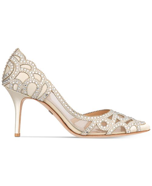b5efbabd3b3f ... Badgley Mischka Marissa Embellished Evening Pumps
