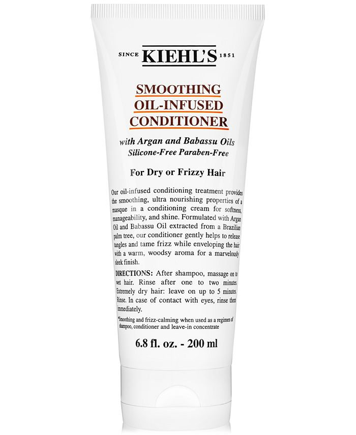 Kiehl's Since 1851 - Smoothing Oil-Infused Conditioner, 6.8-oz.