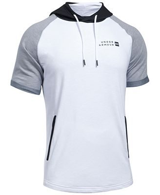 Under Armour Men S Sportstyle Short Sleeve Hoodie T Shirts Men