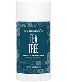 Schmidt's Deodorant Tea Tree Sensitive Skin Deodorant Stick