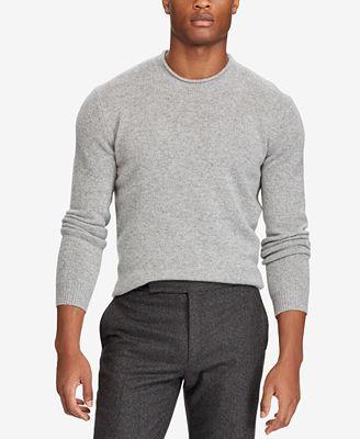Polo Ralph Lauren Men's Cashmere Sweater - Sweaters - Men - Macy's