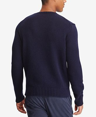 Polo Ralph Lauren Mens Iconic Polo Bear Sweater Sweaters Men