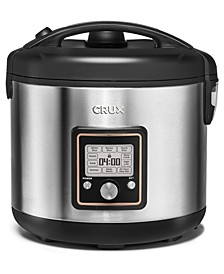 14651 20-Cup Fuzzy Logic Programmable Rice Cooker, Created for Macy's
