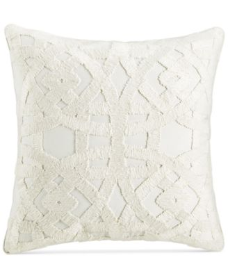 "Trousseau 22"" Square Decorative Pillow, Created for Macy's"