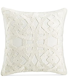 """CLOSEOUT! Trousseau 22"""" Square Decorative Pillow, Created for Macy's"""