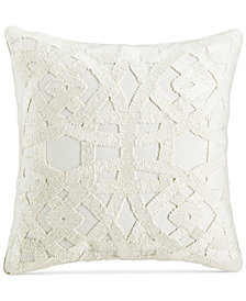 "Hotel Collection Trousseau 22"" Square Decorative Pillow, Created for Macy's"