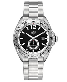 Men's Swiss Automatic Formula 1 Stainless Steel Bracelet Watch 43mm