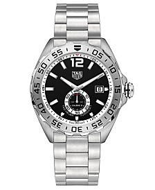 TAG Heuer Men's Swiss Automatic Formula 1 Stainless Steel Bracelet Watch 43mm
