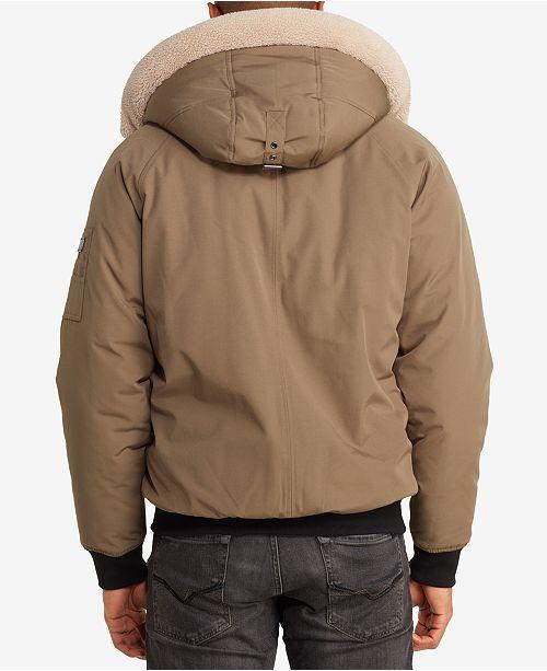 1795e6945 Men's Hooded Bomber Jacket